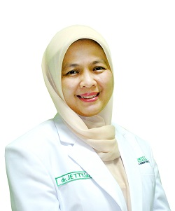 dr. Jetty Rusmajati, Sp. Rad