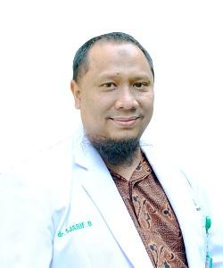 dr. Sjarif Darmawan, Sp.B